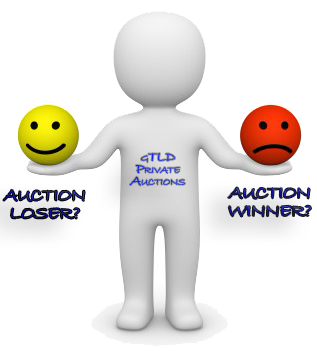 New gTLDs Auction:  The Upside of Losing at Auction
